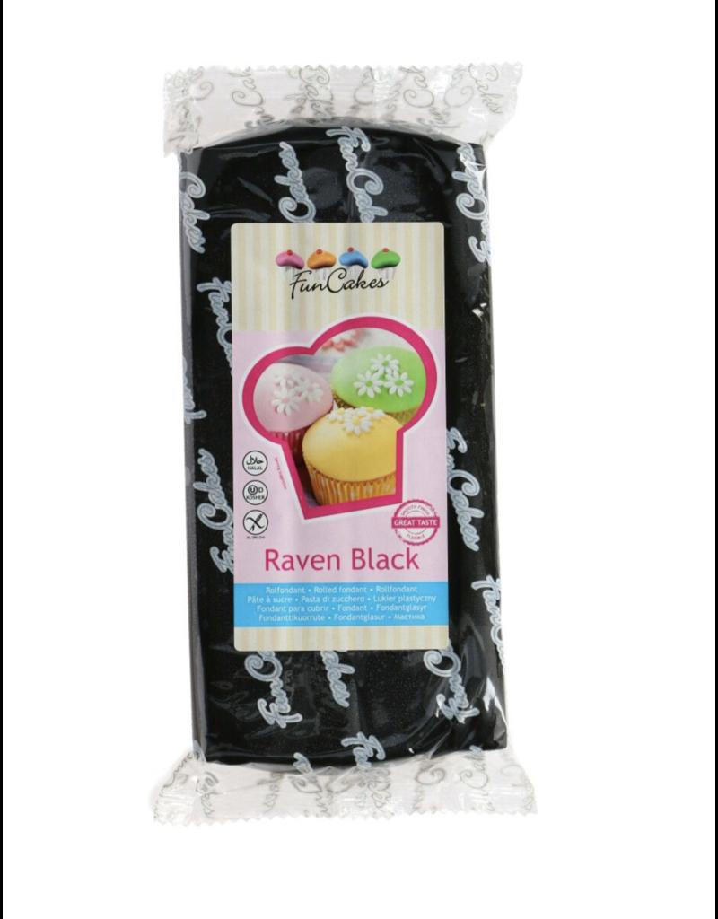 FunCakes Fondant raven black 1 kg