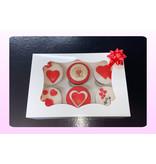 1: Sweet Planet Cupcake hartjes