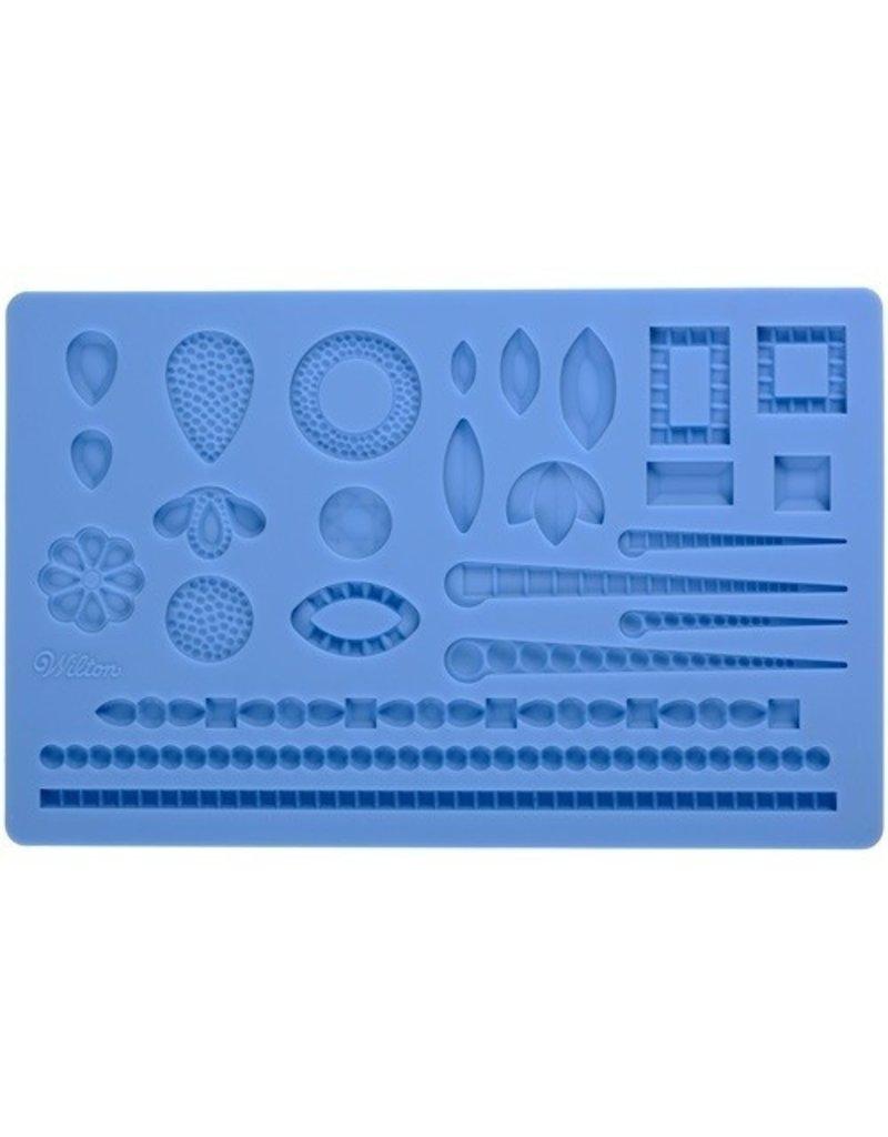 Wilton Siliconen mold juwelen (Jewlery)