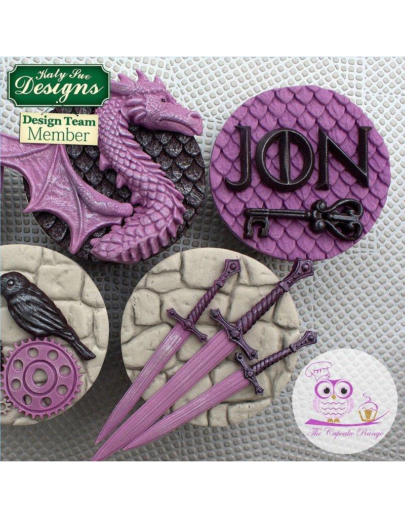 Katy Sue Designs Iron Alphabet