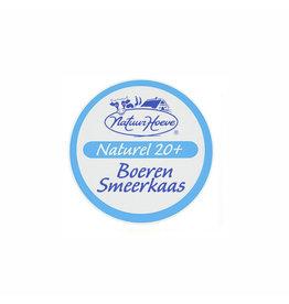 Natuurhoeve Boerensmeerkaas naturel 20+  (koe)150 gr