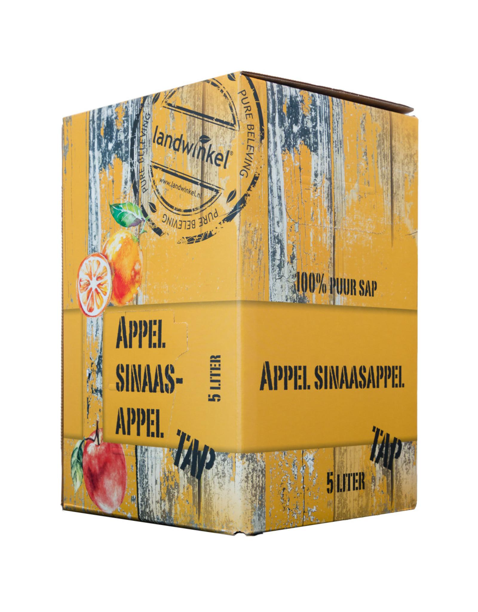Landwinkel Appeltap sap appel sinaasappel  5 ltr