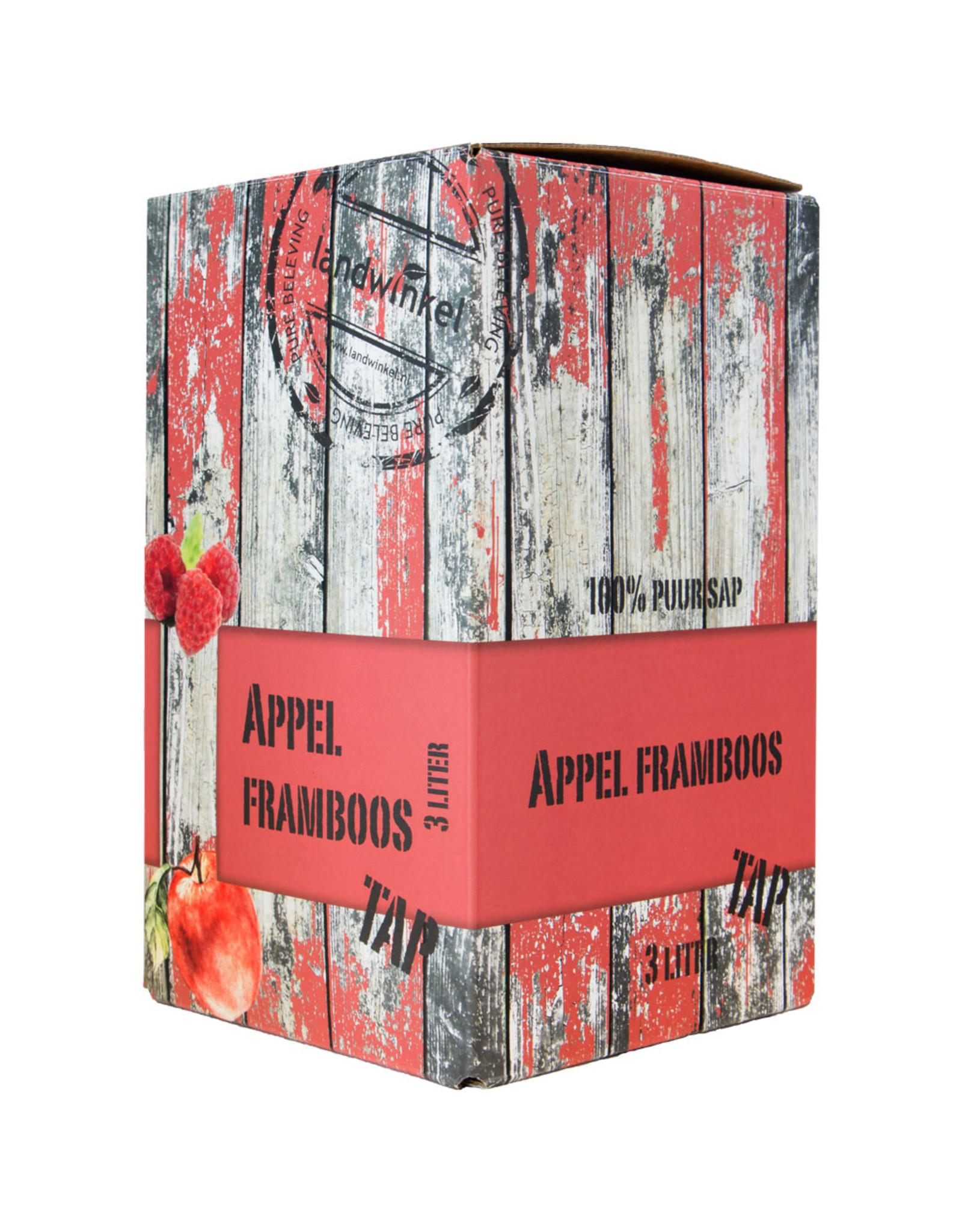 Landwinkel Appeltap sap appel Framboos 3 ltr
