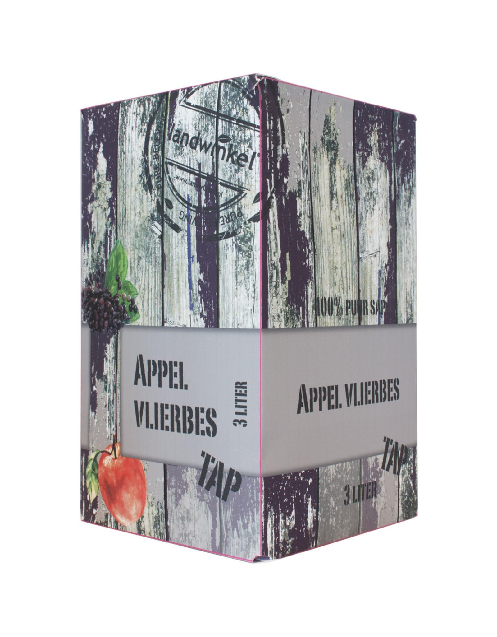 Landwinkel Appeltap sap appel Vlierbes 3 ltr