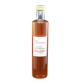 De Limonaderij Appel-aardbei siroop 0,5 ltr