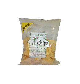 Hoeksche Waard Chips zeezout Ribbel 150 gr