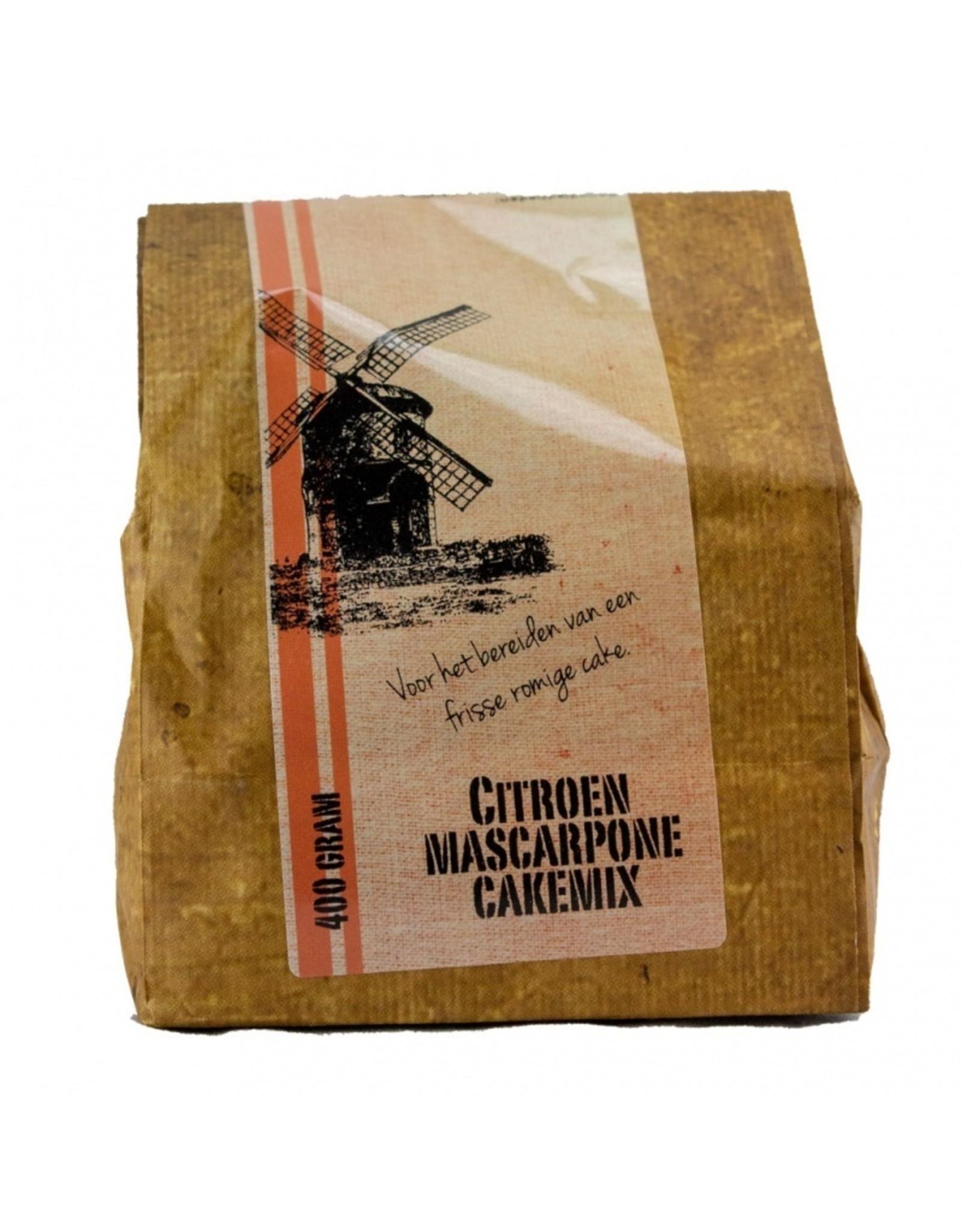 Landwinkel Citroen mascapone cake mix 0,4 kg