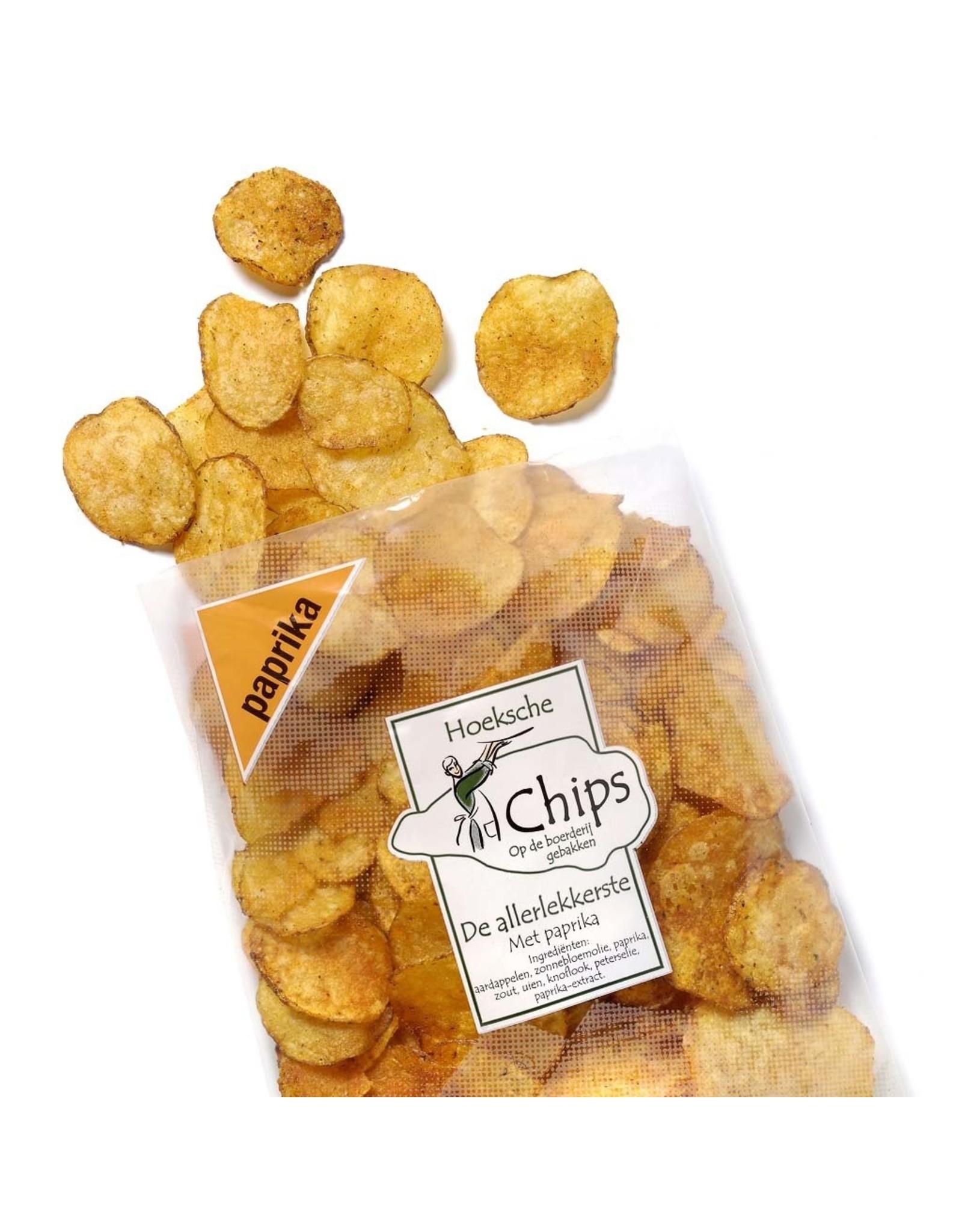 Hoeksche Waard Chips paprika 150 gr
