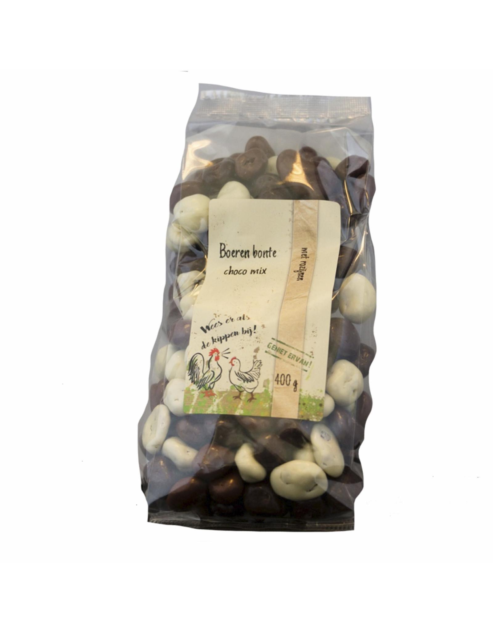Landwinkel Boeren bonte choco mix rozijnen 400 gr