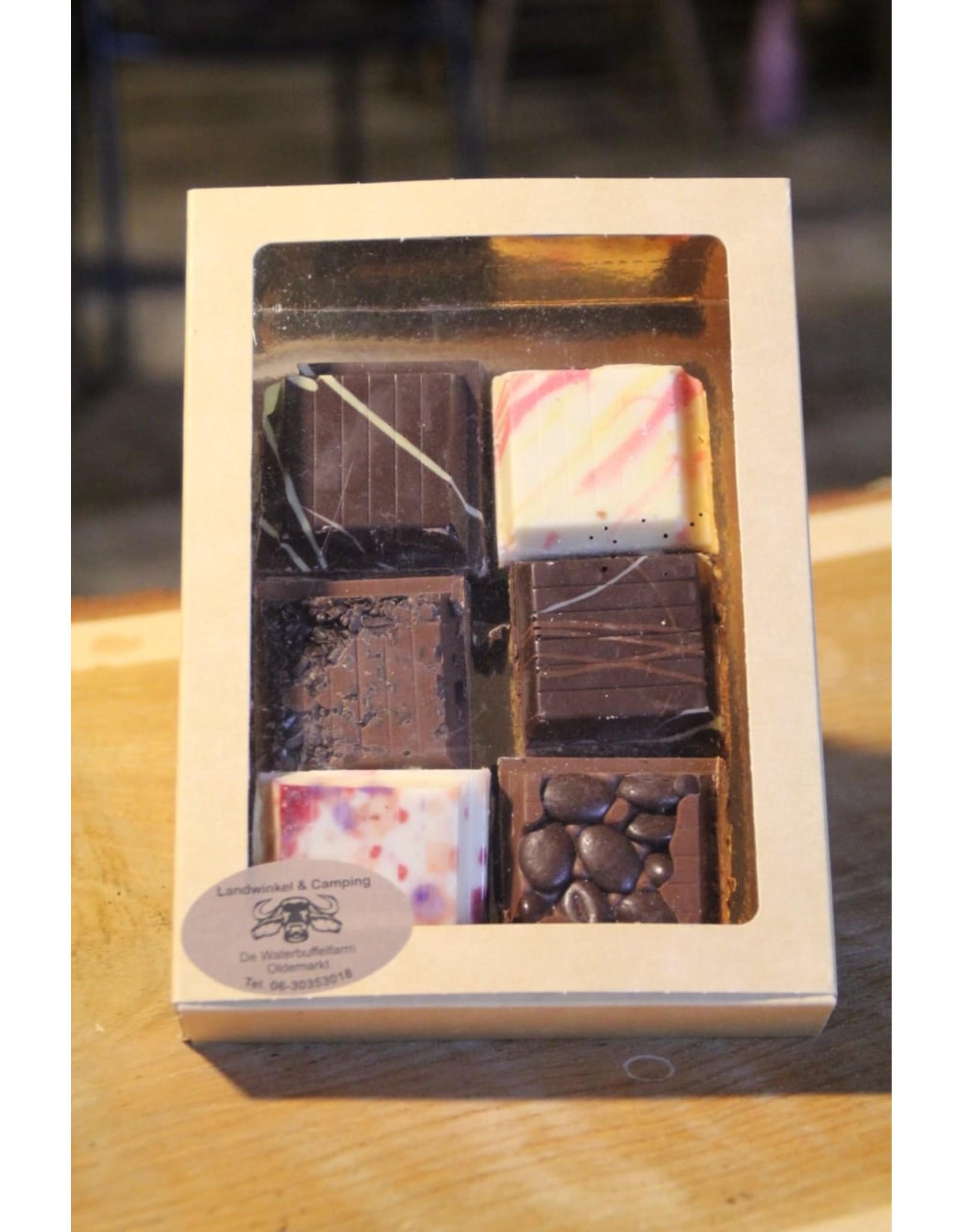 Tuingereedschap van chocolade