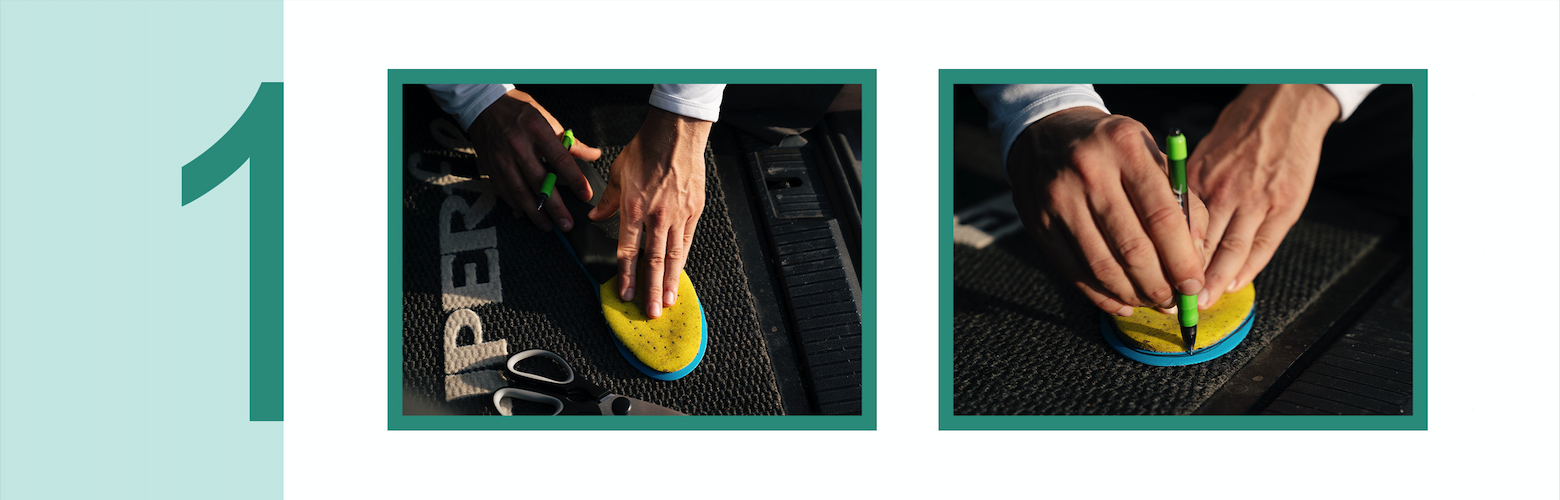 How To Superfeet in je schoenen - stap 1