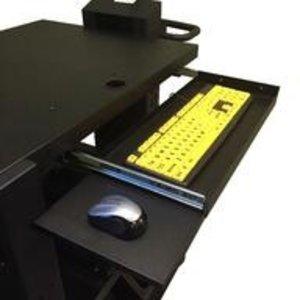 Newcastle Systems Tastaturschublade und Mausablage - Heavy Duty
