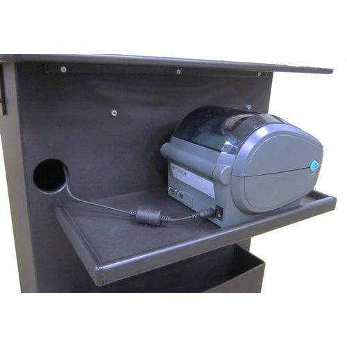 Newcastle Systems Printer shelf QC