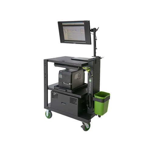 Newcastle Systems PC Standard Series PoweredKit - Mobile Powered Workstation