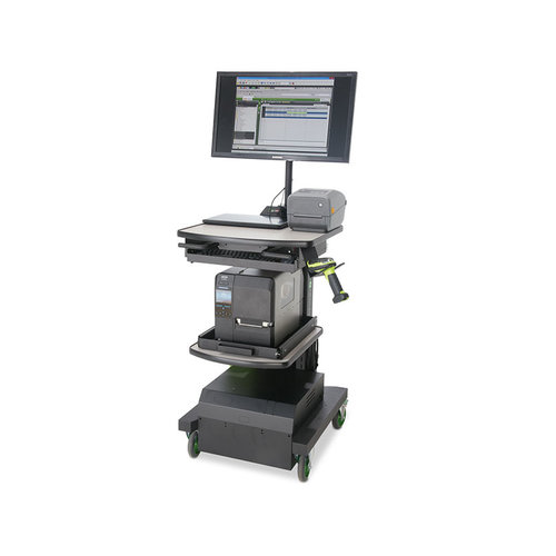 Newcastle Systems NB MID Series PoweredKit - Mobile Powered Workstation