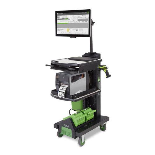 Newcastle Systems NB SLIM Serie PoweredKit - Mobiler Arbeitsplatz mit Stromversorgung