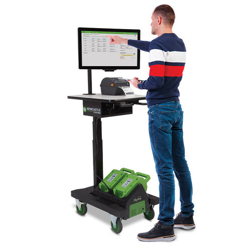 Newcastle Systems APEX Series PoweredKit - Mobile Powered Workstation