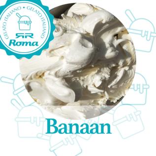 Roma Dagvers roomijs per liter Banaan