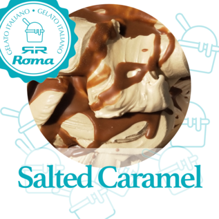 Roma Dagvers roomijs per liter Salted Caramel