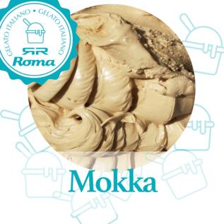 Dagvers roomijs per liter Mokka
