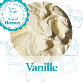 Dagvers roomijs per liter Vanille