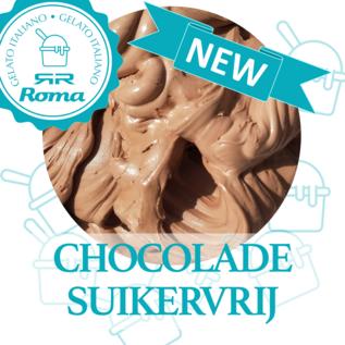 Dagvers roomijs per halve liter suikervrij chocolade ijs