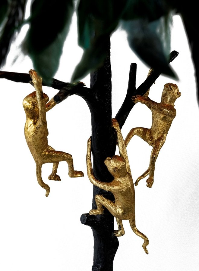 "Floor lamp ""Monkey tree"""
