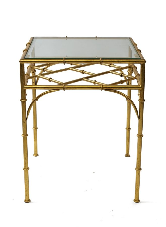 """Table """"Bamboo d'or 1 layer"""""""