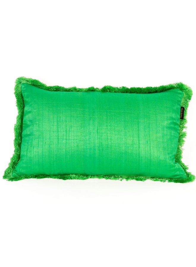 "Cushion ""Giada"" - green"
