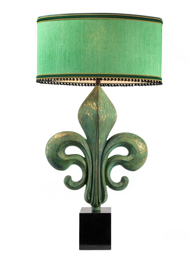 "Table lamp ""French lily"""