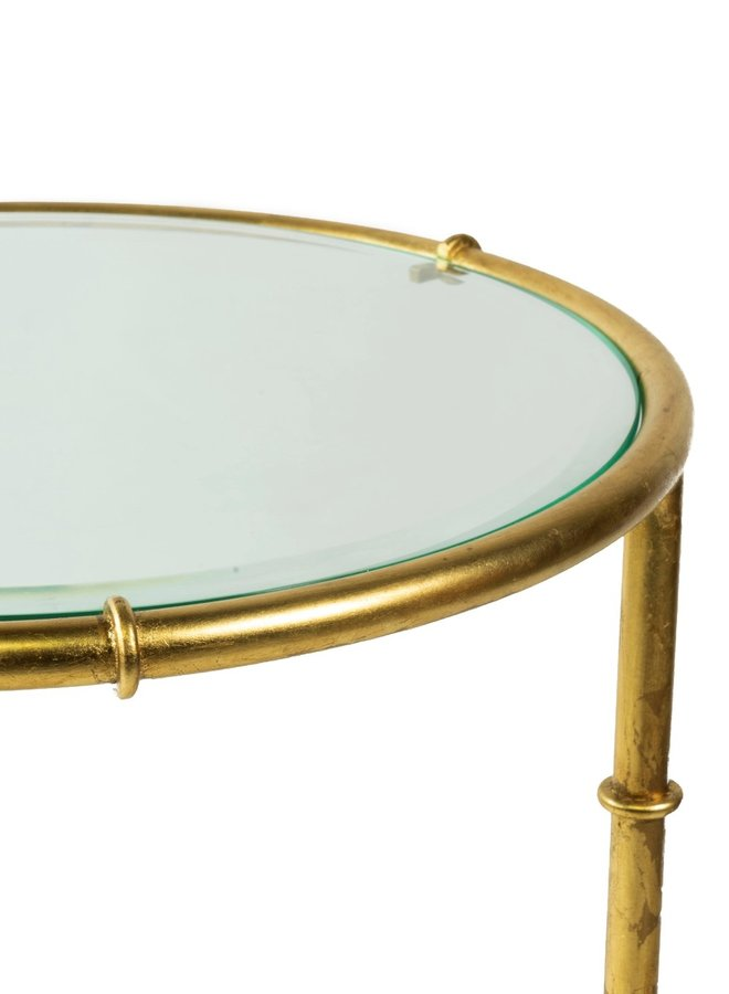"""Table """"Bamboo d'or round"""""""