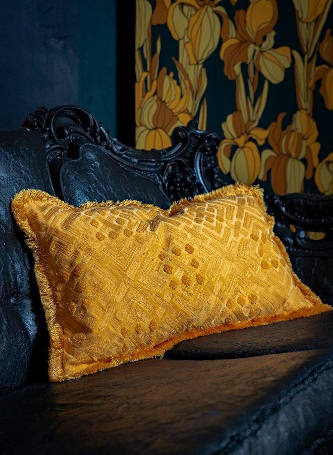 """Cushion """"Giada"""" - yellow"""