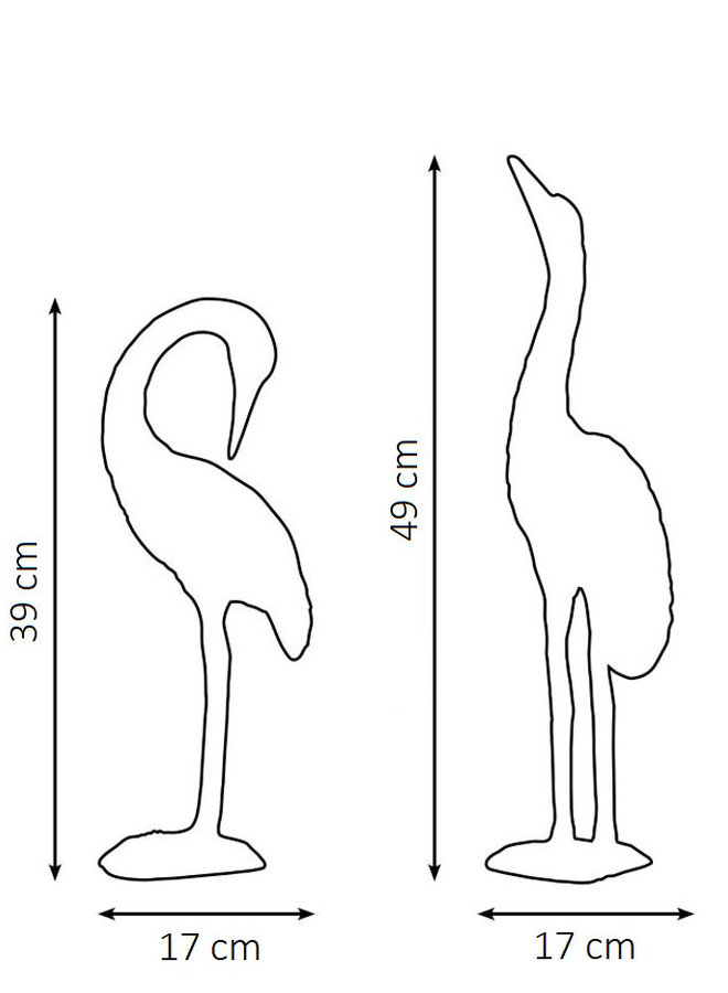 "Decoration ""Cranes"" - medium"