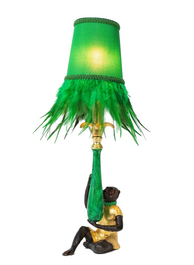 """Table lamp """"Feather Monkey"""""""