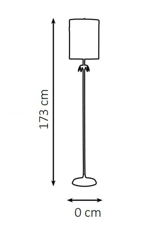 """Floor lamp """"Crown or"""""""
