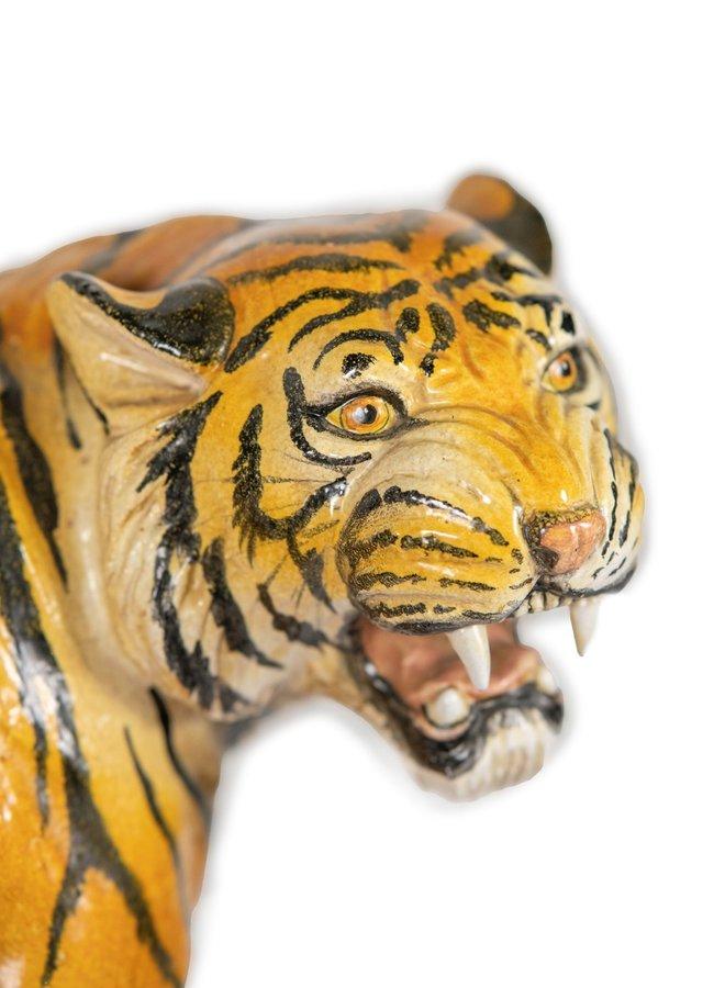 Mid-century Terracotta Tiger