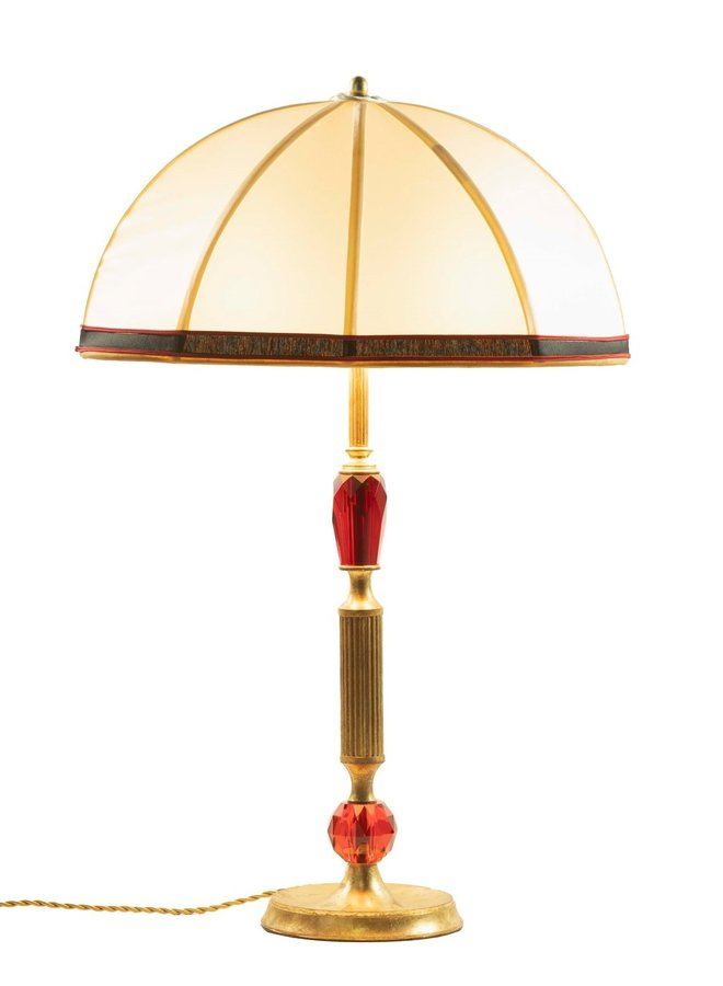 """Table lamp """"Caramella Dolce"""" Red"""