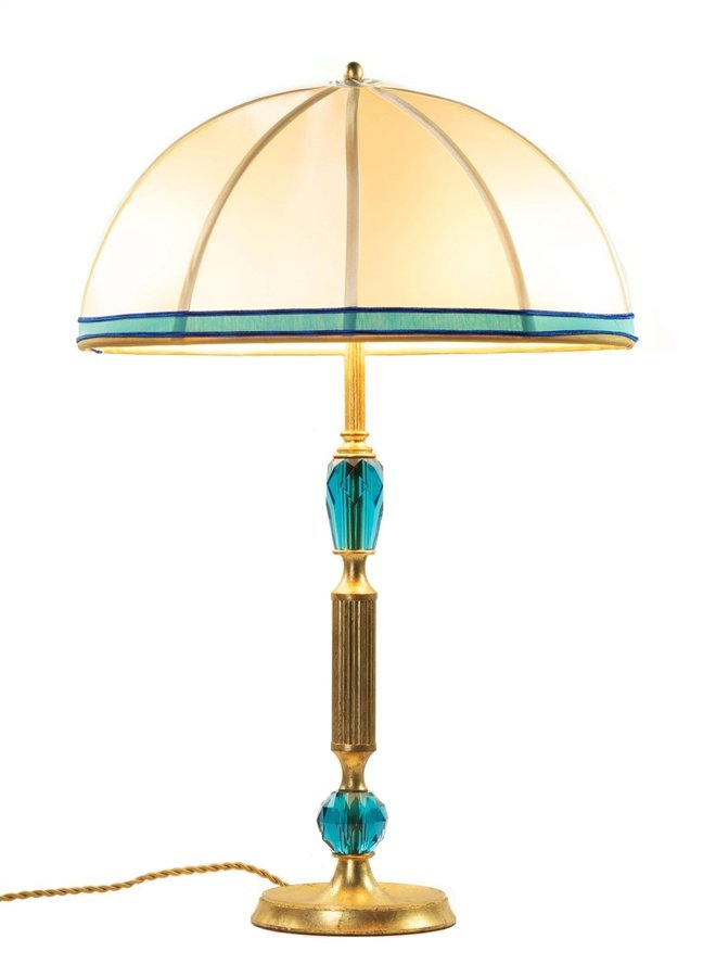"""Table lamp """"Caramella Dolce"""" Turquoise"""