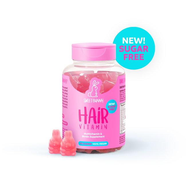 Sweet Bunny Hair Vitamin 1 month single bottle - SUGAR FREE