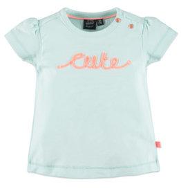 Babyface Baby Girls t-shirt sh.sl. SOFT MINT
