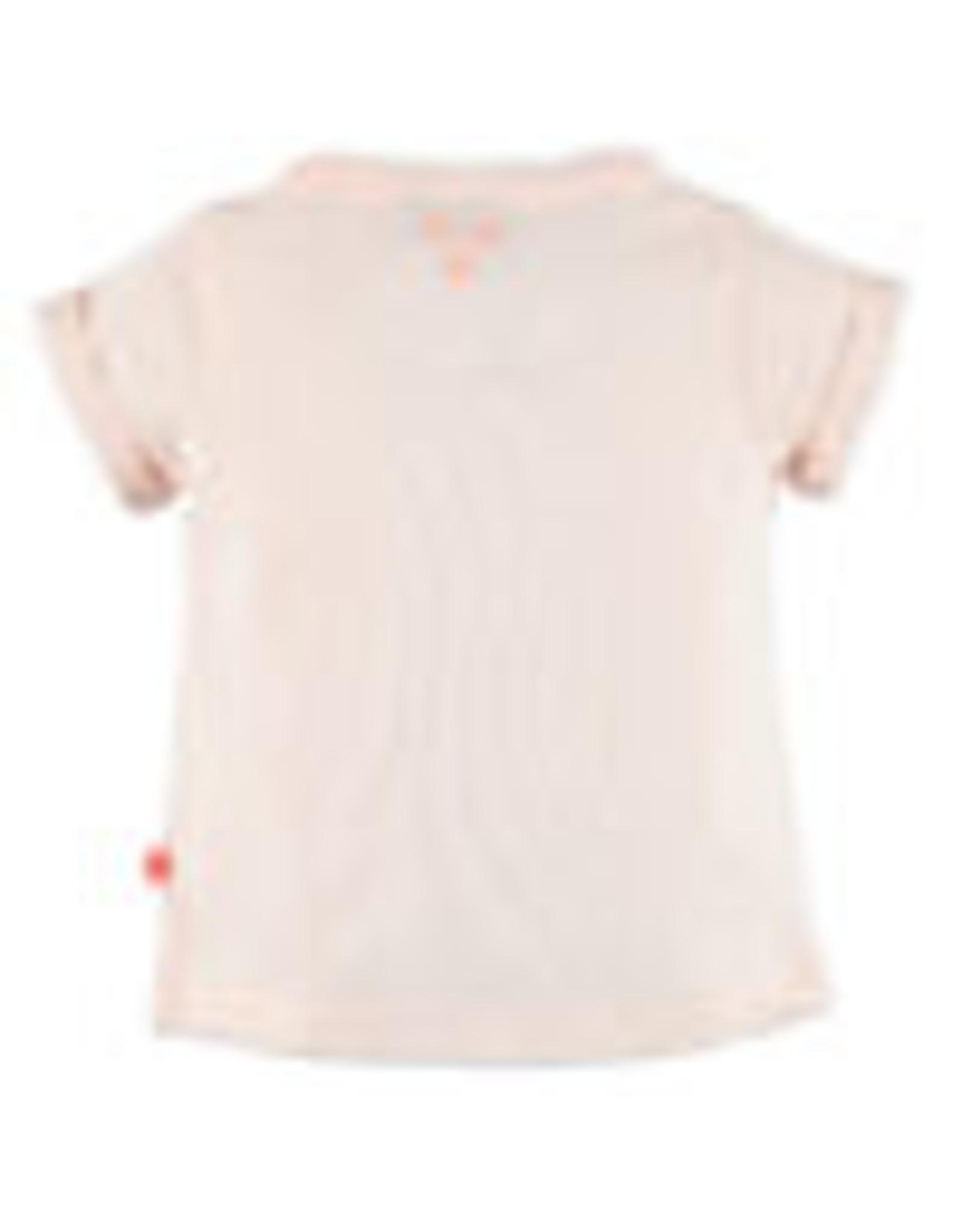 Babyface Baby Girls t-shirt sh.sl. PINK CLOUD