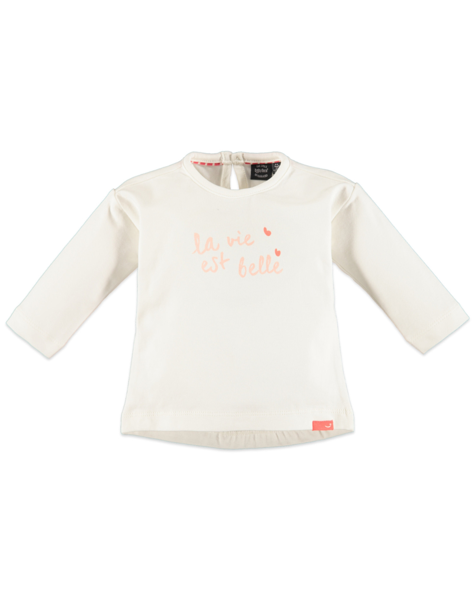 Babyface Baby Girls t-shirt l.sl. OFF WHITE