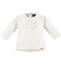 Babyface Baby Girls t-shirt l.sl. OFF WHITE