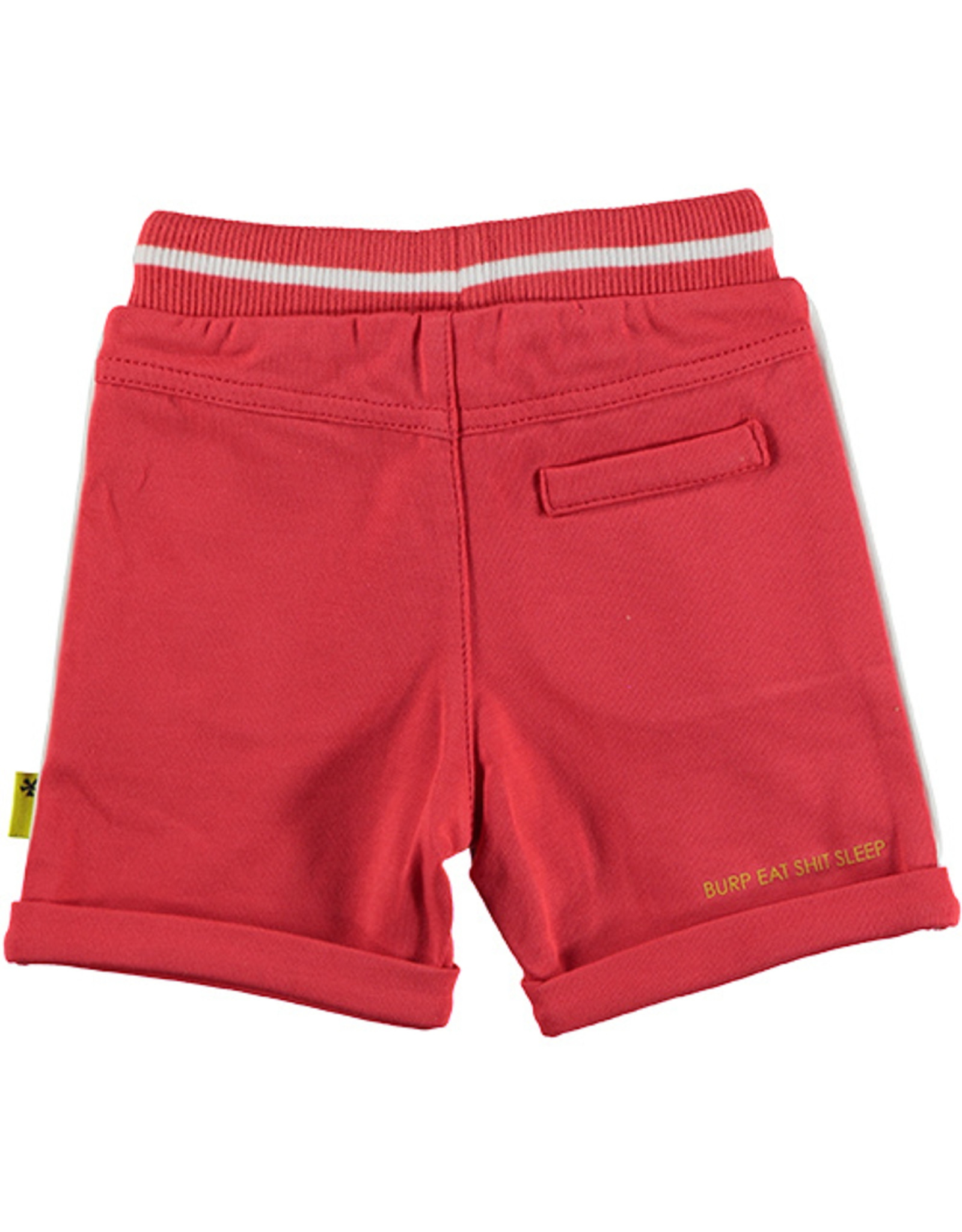 B.E.S.S. Shorts Uni with Piping, Red