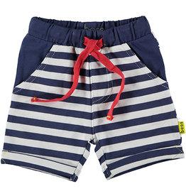 B.E.S.S. Shorts Striped, White