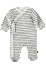 B.E.S.S. Suit Striped, White