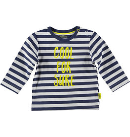 B.E.S.S. Shirt l.sl. Striped Cool For Sure, Blue