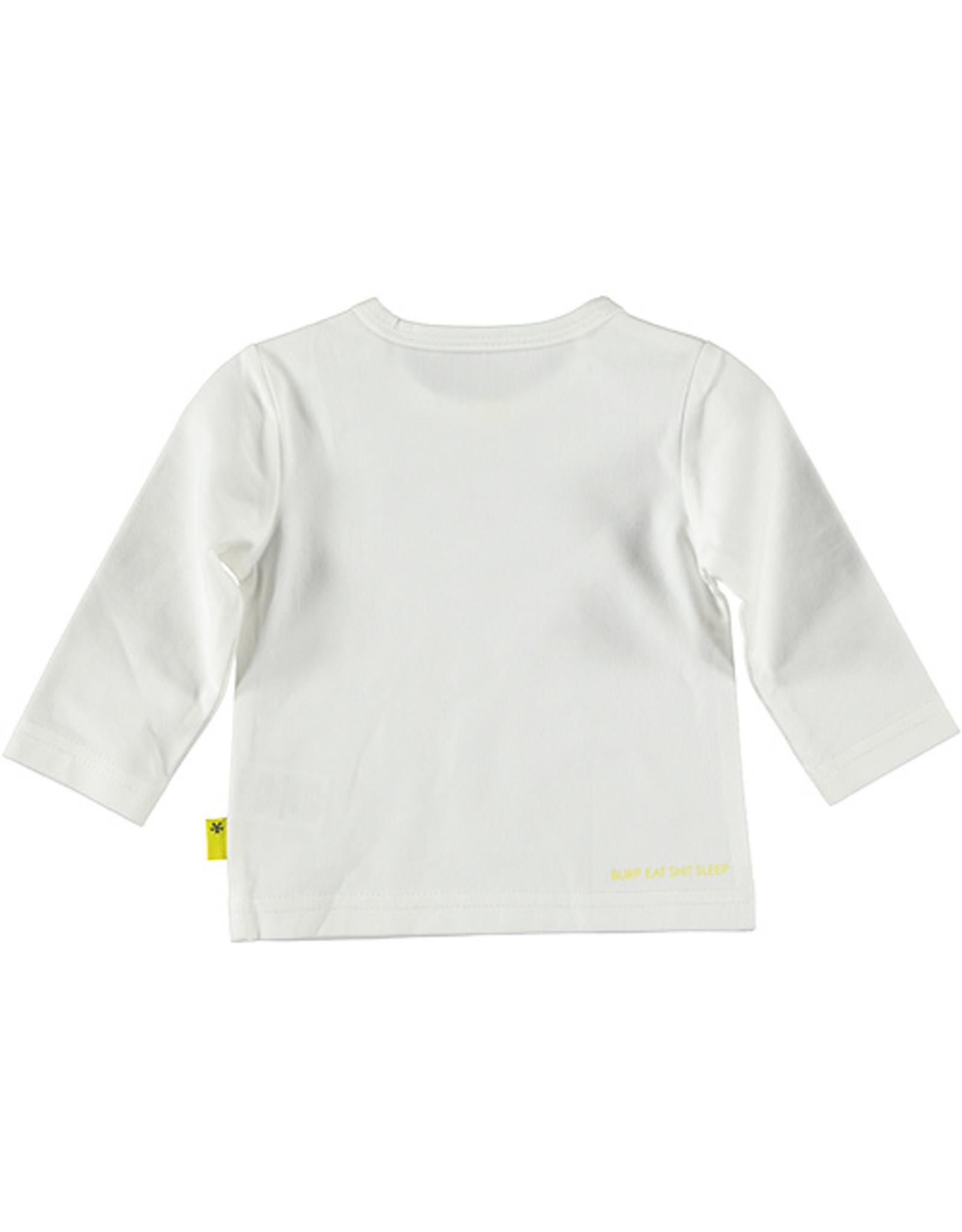 B.E.S.S. Shirt l.sleeve Loved, White