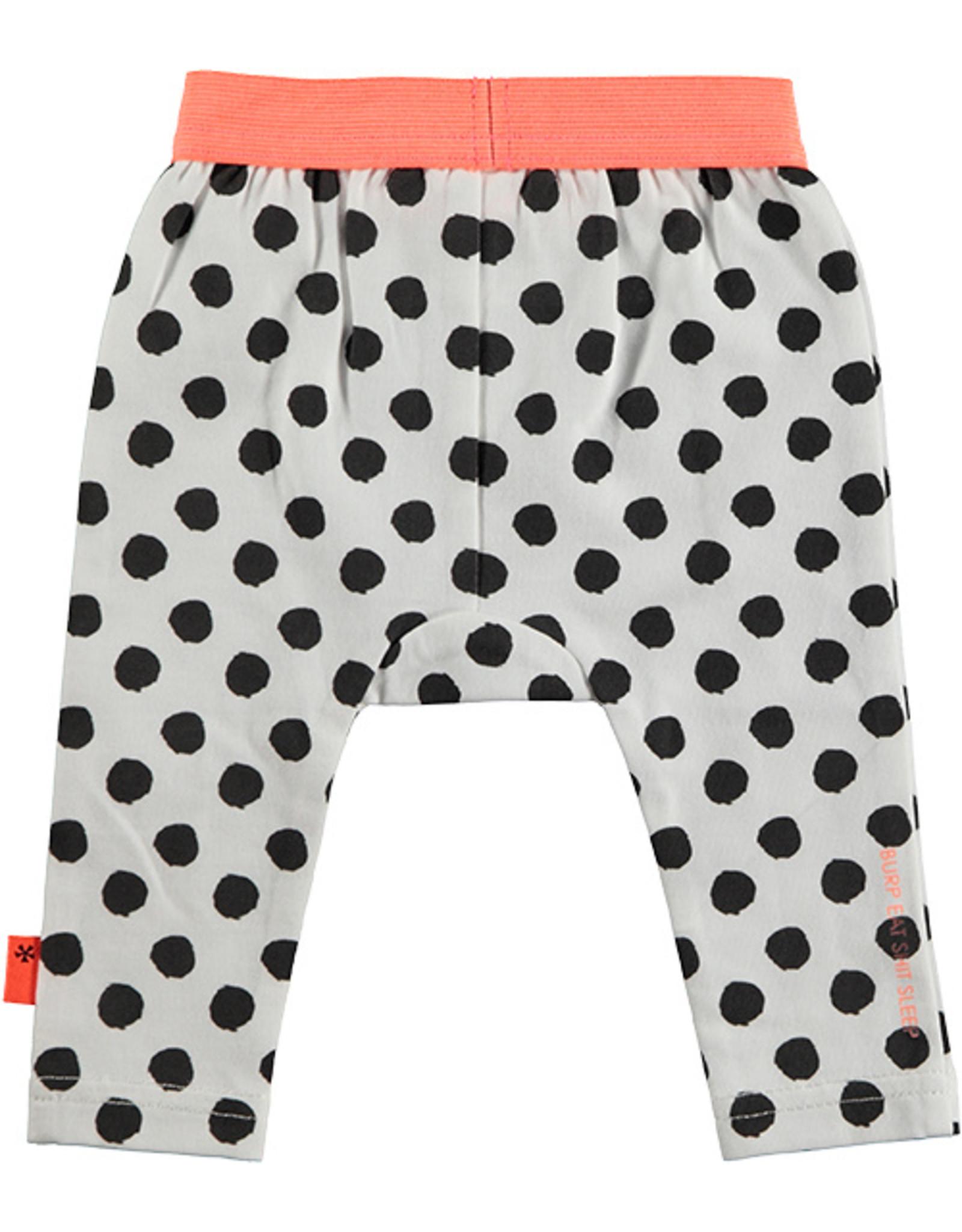 B.E.S.S. Legging Dots, White
