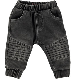 B.E.S.S. Pants Jogdenim, Grey Denim